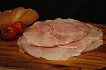 sliced leg ham