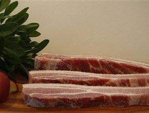 pork belly slices