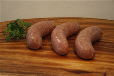 old english beef sausages